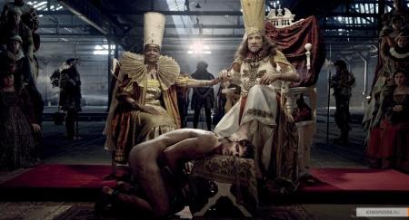 Гольциус и его Пеликанья компания печатных мастеров с их жёнами и любовница